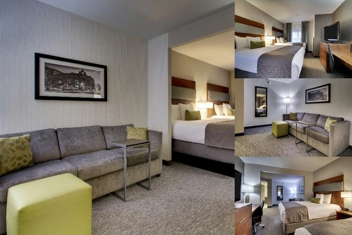 Best Western Plus Boston Hotel photo collage