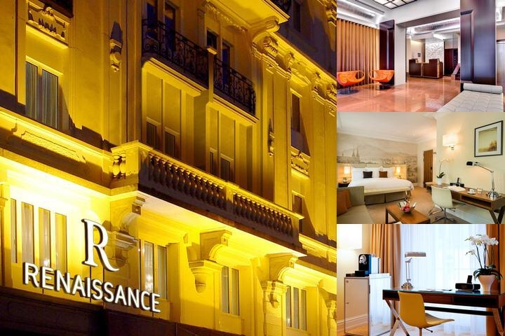 Renaissance Lucerne Hotel photo collage