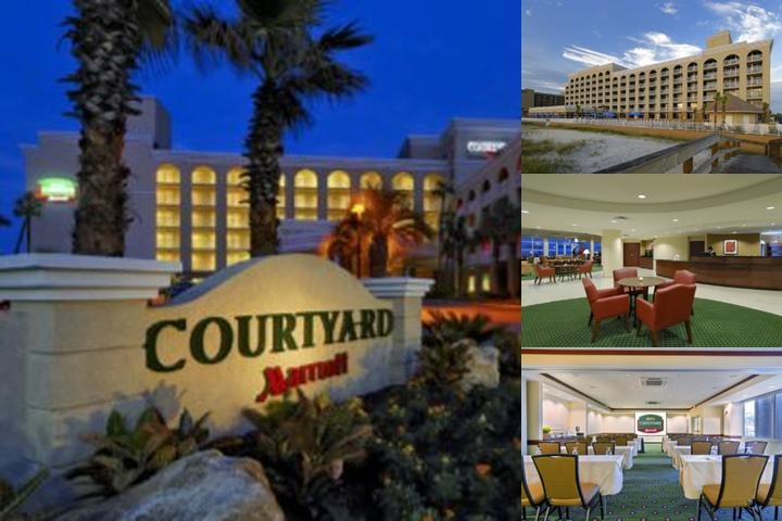 Courtyard by Marriott Oceanfront Jacksonville Beac photo collage