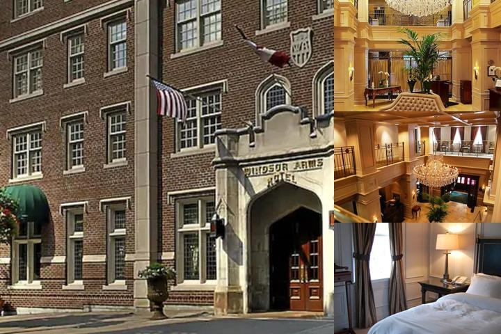 Windsor Arms Hotel photo collage