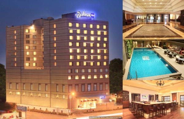 Radisson Blu Hotel Chennai City Centre photo collage