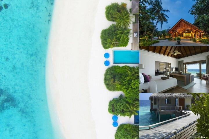Dusit Thani Maldives photo collage