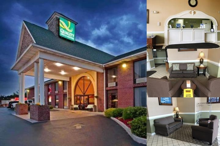 Quality Inn & Suites Somerset Ky photo collage