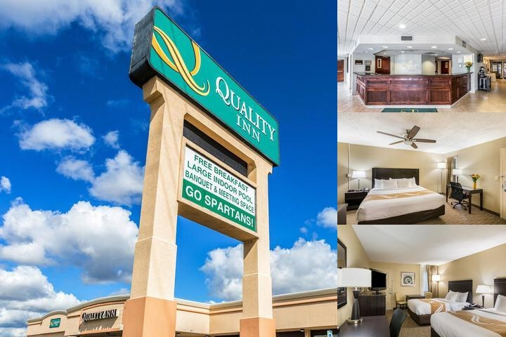 University Quality Inn photo collage