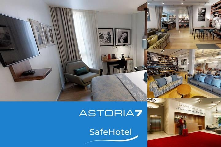 Astoria7 Hotel photo collage