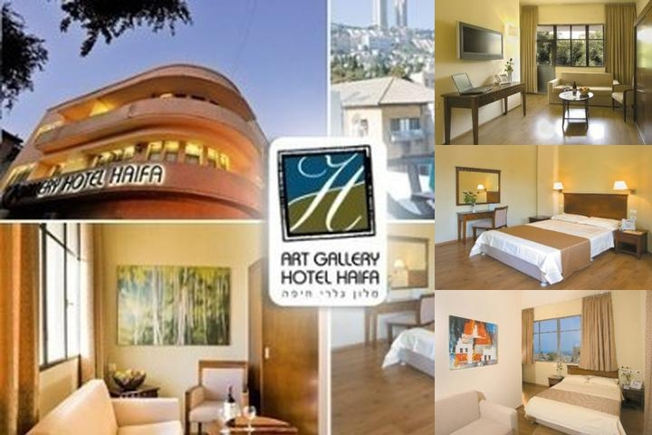 Art Gallery Hotel Haifa photo collage