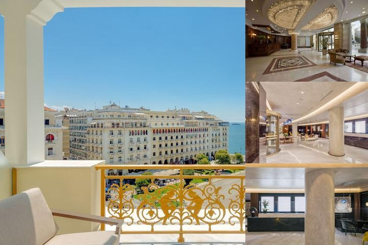 Electra Palace Hotel Thessaloniki photo collage