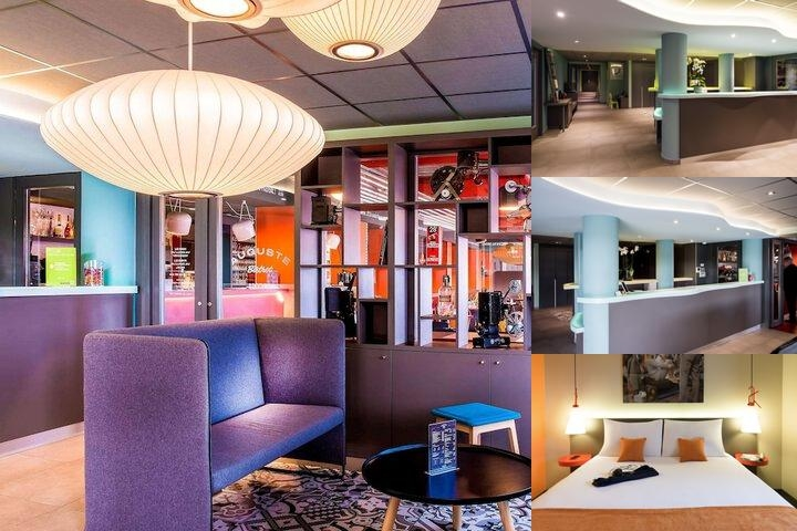 Ibis Styles Lyon Confluence Om photo collage