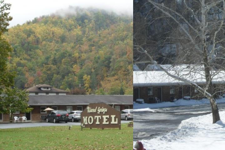 Mineral Springs Motel photo collage