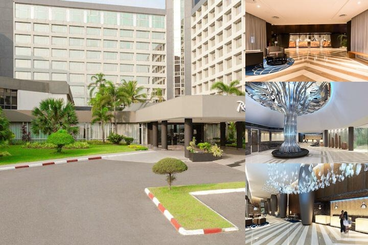 Okoume Palace Hotel photo collage