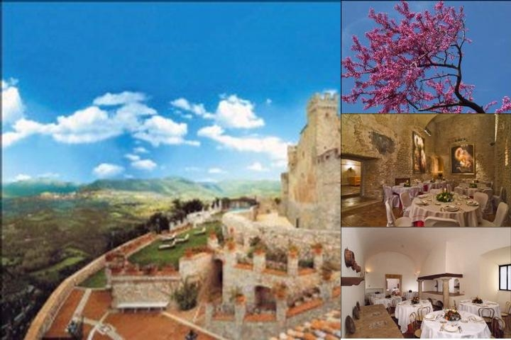 Castello Orsini Hotel photo collage