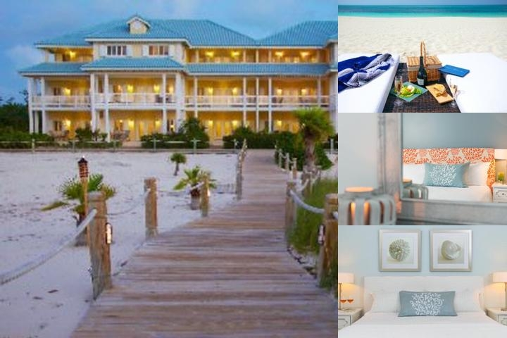 Beach House Turks & Caicos photo collage