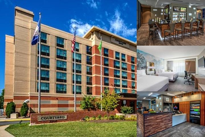 Sheraton Herndon Dulles Hotel photo collage