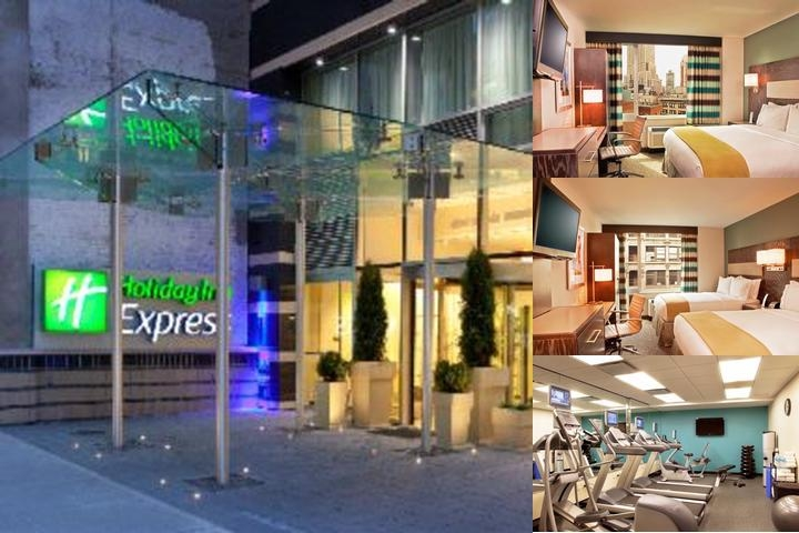 Holiday Inn Express Manhattan Times Square South photo collage