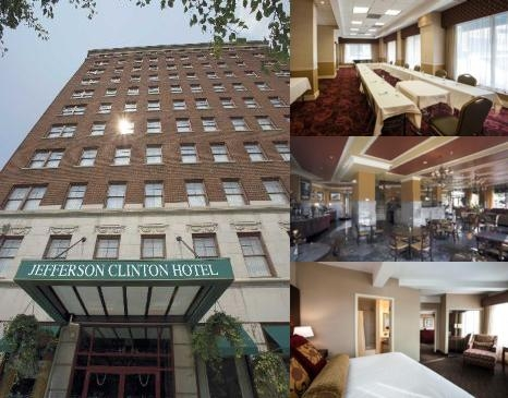 Jefferson Clinton Hotel photo collage