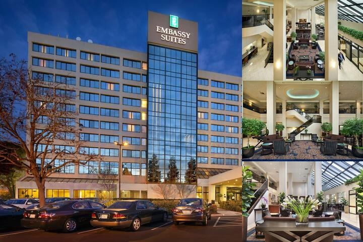 Embassy Suites Santa Clara photo collage