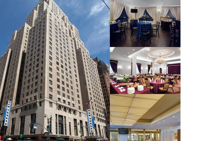 The Wyndham New Yorker Hotel photo collage