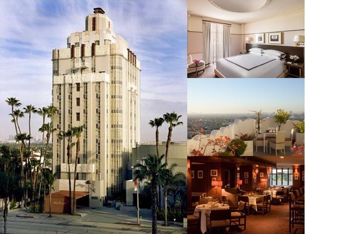 Sunset Tower Hotel photo collage