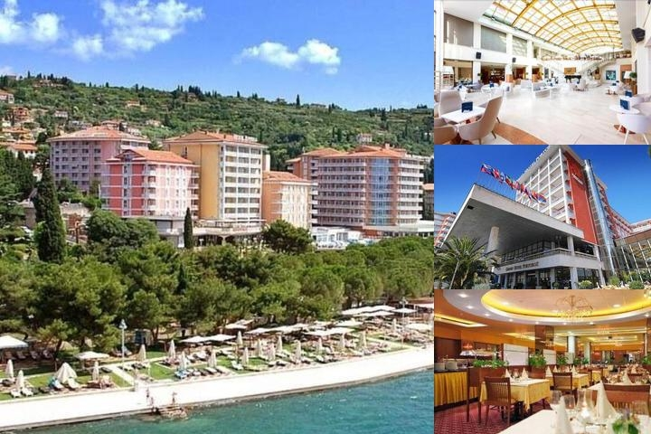 Grand Hotel Portoroz photo collage