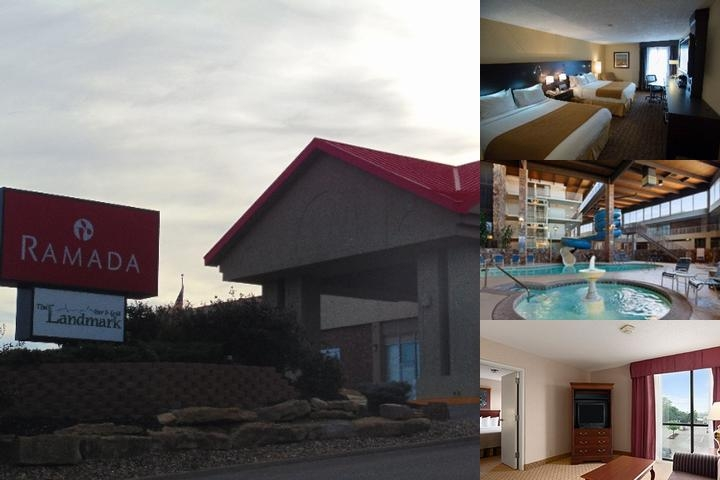 Ramada Topeka West photo collage