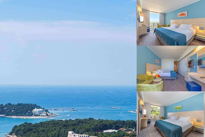 Valamar Diamant Hotel photo collage