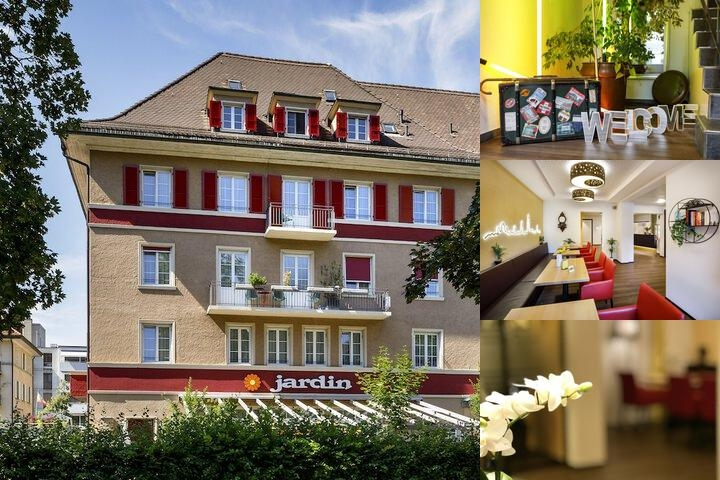 Hotel Restaurant Jardin photo collage