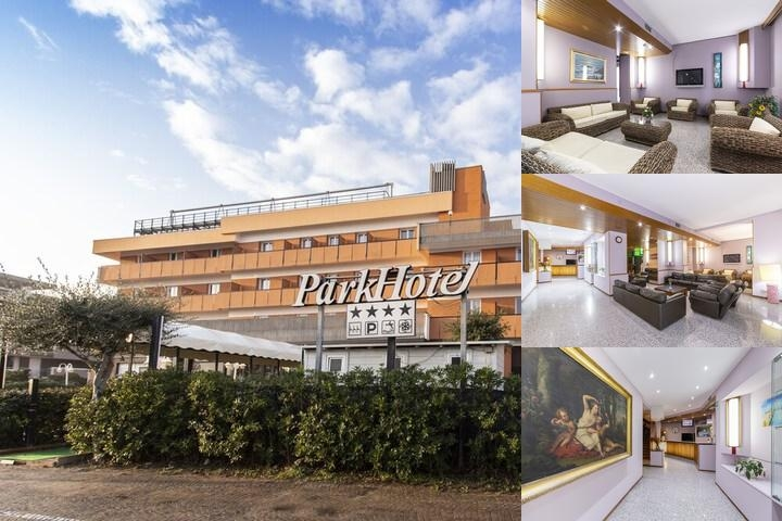 Park Hotel photo collage