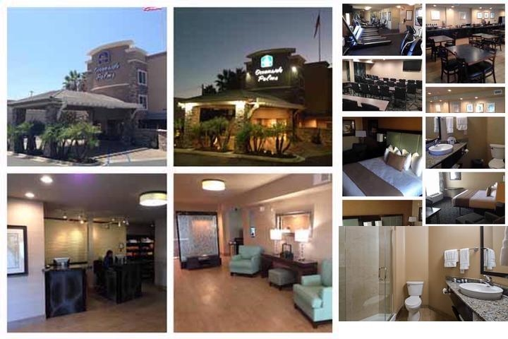 Oceanside Palms Hotel photo collage