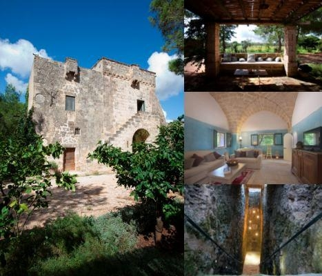 Masseria Cristo photo collage