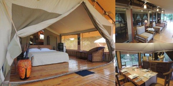 Loyk Mara Luxury Camp photo collage