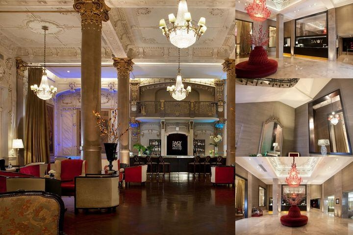 Savoy Hotel photo collage