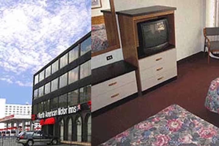 North American Motor Inn photo collage