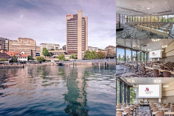Zurich Marriott Hotel photo collage