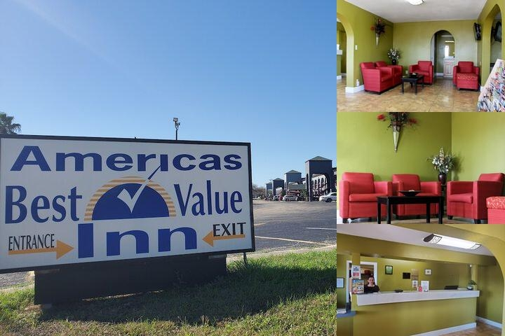 Americas Best Value Inn at & T Center photo collage
