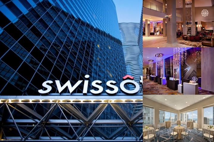 Swissotel - Chicago photo collage