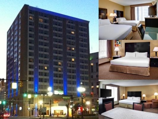 Holiday Inn Express & Suites Downtown Detroit photo collage