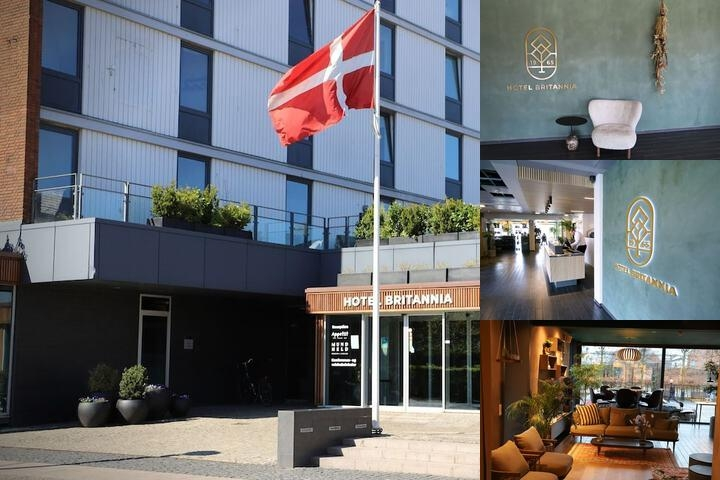 Hotel Britannia photo collage