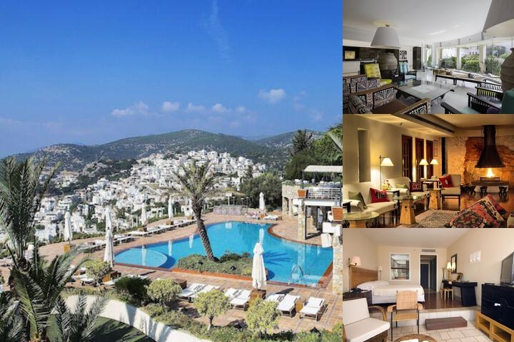 The Marmara Bodrum photo collage