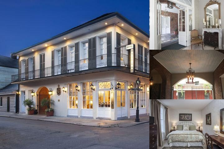 Chateau Hotel New Orleans photo collage