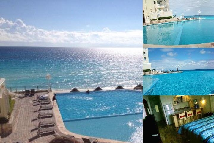 Cancun Plaza Condos photo collage