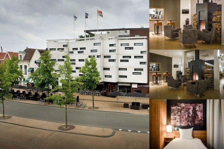 Hampshire City Hotel Groningen photo collage