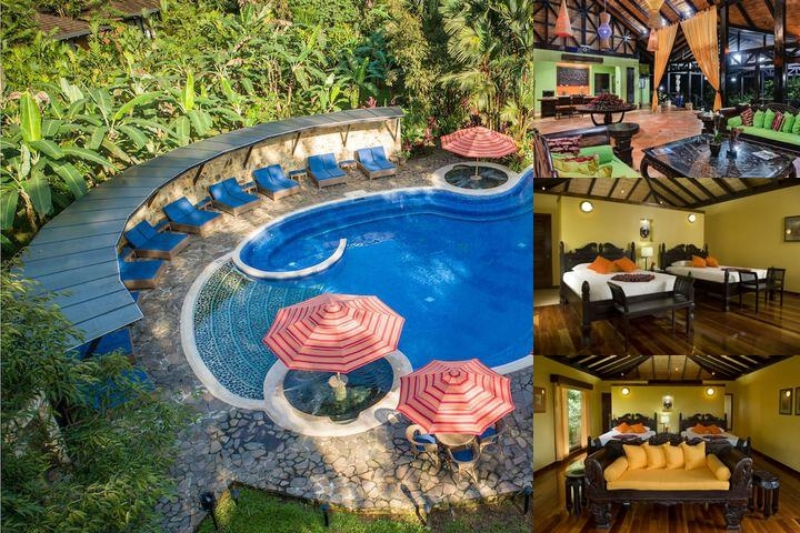 Hotel Rio Celeste Hideaway photo collage