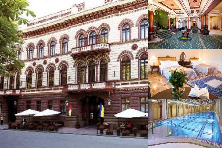Londonskaya Hotel photo collage