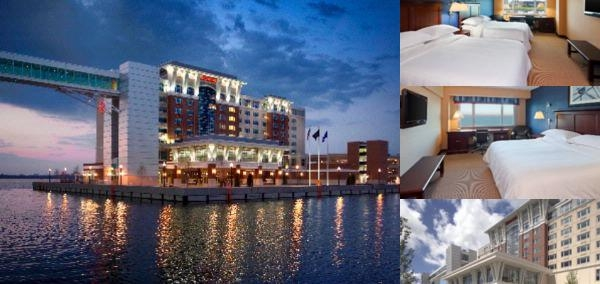 Sheraton Erie Bayfront photo collage