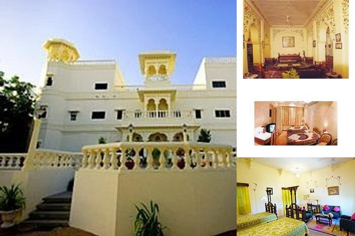 Hotel Jhalamand Garh photo collage