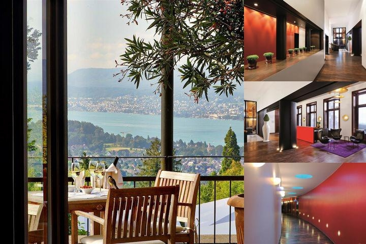 Sorell Hotel Zürichberg photo collage