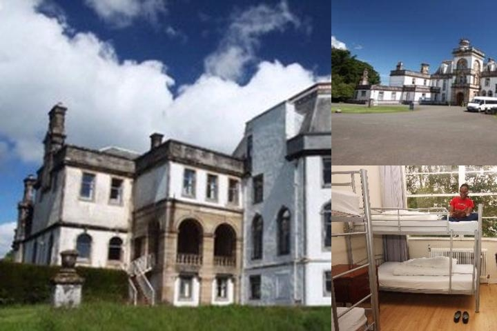 Gartmore House photo collage
