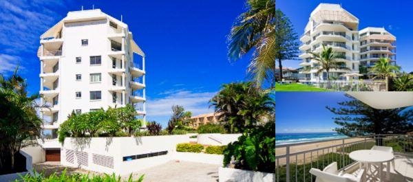 Oceanside Resort Absolute Beachfront Apartments photo collage