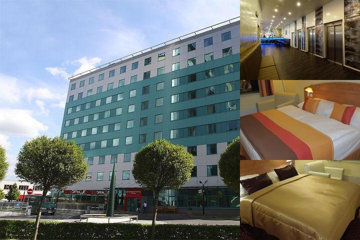 Best Western Amedia Praha photo collage