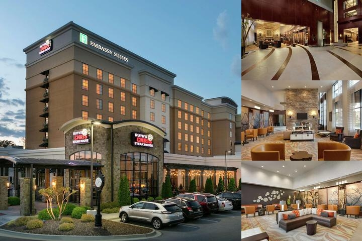 Embassy Suites Chattanooga / Hamilton Place photo collage